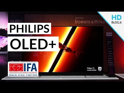 #Philips TV OLED 903 e 803 con audio Bowers & Wilkins | ANTEPRIMA