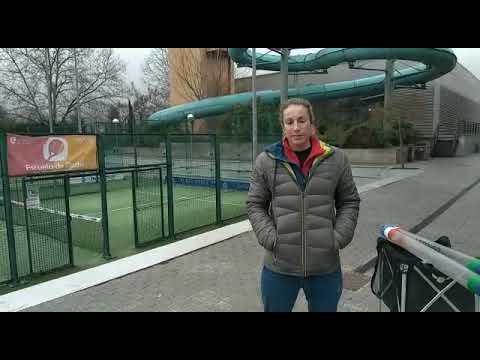 Rocío Amadio de Humboldt que hace años es profesora de tenis en España nos envía saludos