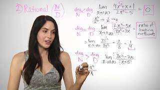 How To Find The Limit At Infinity (NancyPi)