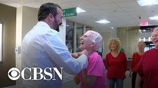 Doctor Dances With 91 Year Old Patient To Celebrate Surgery Success
