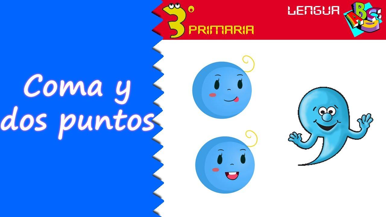 Lengua Castellana. 3º Primaria. Tema 4. La coma y los dos puntos