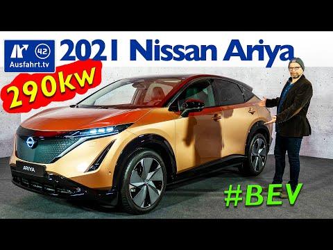⚡️⚡️⚡️ 2021 Nissan Ariya - Statische Premiere, Interieur, Sitzprobe, kein Test