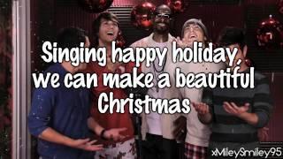 big time rush beautiful christmas with lyrics - Big Time Rush Beautiful Christmas