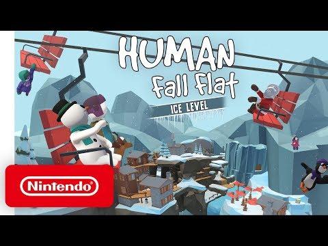 """Human: Fall Flat """"Ice"""" DLC – Launch Trailer – Nintendo Switch"""