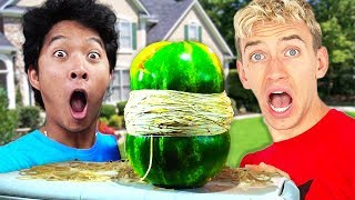 Exploding a Watermelon with Chad Wild Clay Stephen Sharer Papa Jake Carter & Liz Vy Qwaint