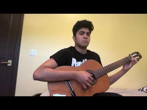 Spanish Waltz on Guitar