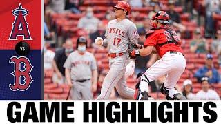 Основные моменты игры «Ангелы против Ред Сокс» (16.05.21)   MLB Highlight