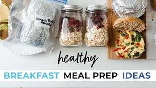 3 Breakfast Meal Prep Recipes To Stock Your Freezer