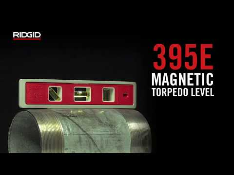 RIDGID 395E Magnetic Torpedo Level