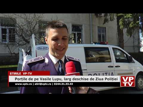 Porțile de pe Vasile Lupu, larg deschise de Ziua Poliției