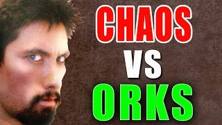 Chaos vs Orks Warhammer 40K Battle Report - Banter Batrep Ep 162