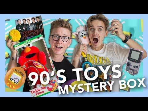 90's Toy Mystery Box (ft. Joe Sugg)