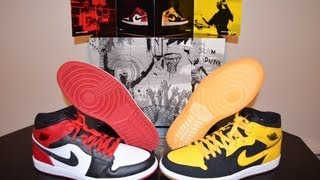 Air Jordan I - Old Love New Love Beginning Moments Pack