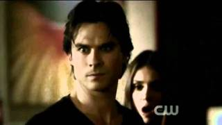 "Damon & Elena- scenes 2x10 - The Sacrifice{{ ""Let go of me""}}"