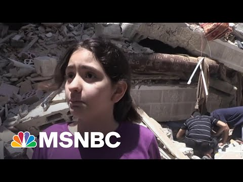 10-Year-Old Gaza Girl Pleads For Help As Airstrikes Continue