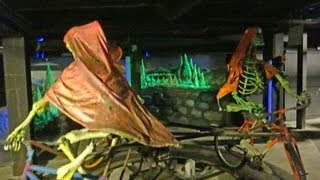 preview picture of video 'The Original Ghost Train (Dark Ride POV) Blackpool Pleasure Beach'