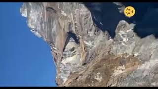 Uttarakhand Badrinath Rudraprayag  vally par glacier ke tutne se aapada ka Bura  Manjar 