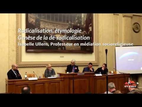 Étymologie du mot  radicalisation et genèse de la dé-radicalisation :  Isabelle Ullern