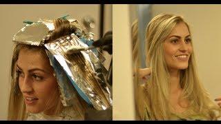 Como faço as luzes no meu cabelo Por Bárbara Thais e Josiane Ferrazzo [HD]