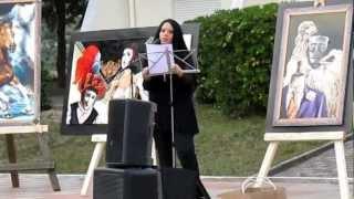 preview picture of video 'Enrica Meloni-Mater d'innata quiete- Festival Palabra en el mundo VI edizione, comune di Tula.MOV'