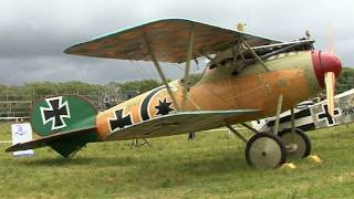 19 full size WW1 aircraft on display