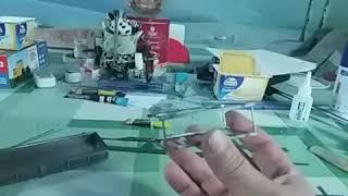 Модель полуприцепа для камаза 1.43 из металла