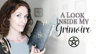 A Look Inside My Grimoire (Book Of Shadows)   #WitchBabyWednesdays