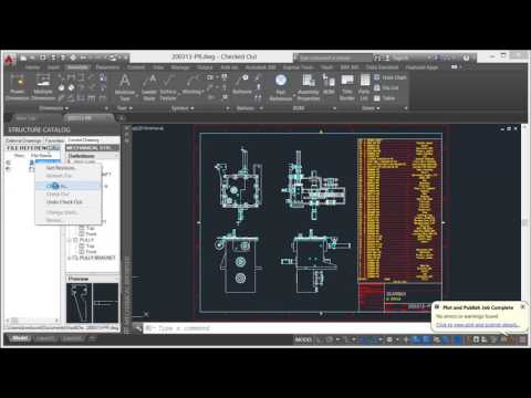 Autodesk Vault - AutoCAD Mechanical Integrations