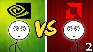 NVIDIA Gamers VS AMD Gamers (Here We Go Again)