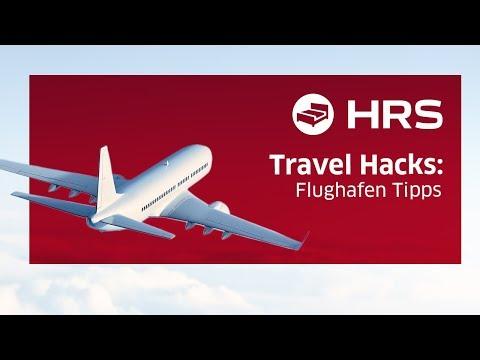 ► Flughafen Lifehacks ✓ Besser unterwegs mit HRS ║ mehr Komfort am Flughafen