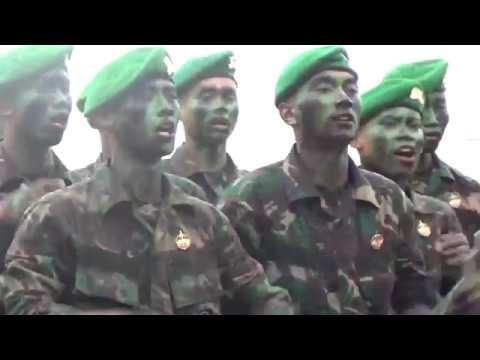 Full Terbaru Yel-yel TNI AD Corp Infanteri #Pembaretan