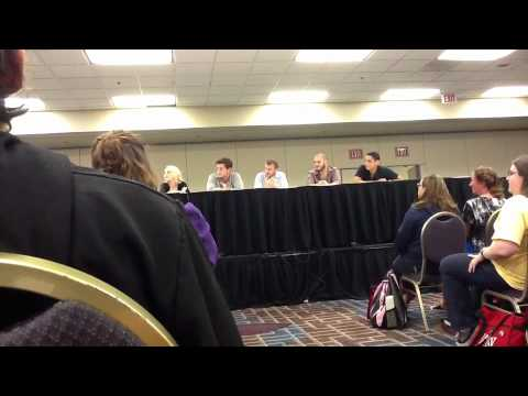 LeakyCon 2012 - Apex Panel with Evanna Lynch and Devin Lytle - Part 2