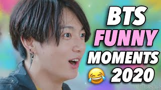 BTS Funny Moments (2020 COMPILATION PART 2)