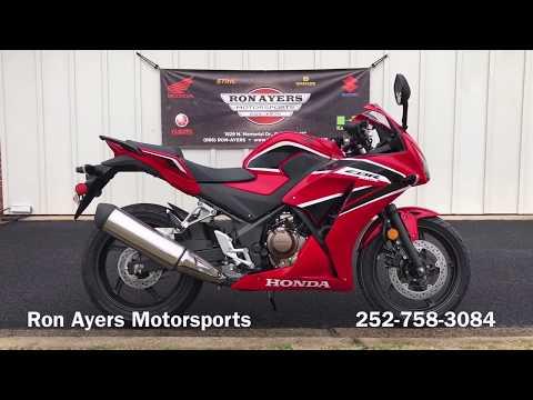 2020 Honda CBR300R in Greenville, North Carolina - Video 1