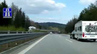 preview picture of video 'A4: AD Dresden-Nord - AS Bautzen-West (3x)'