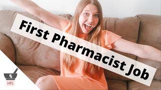 How I Got my First Clinical Pharmacist Job | Hospital Pharmacy Job Tips