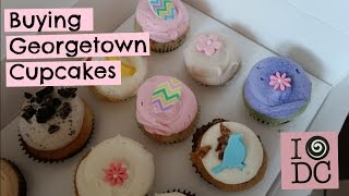 BUYING GEORGETOWN CUPCAKES | MoreMegs
