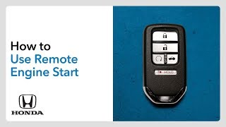 How to Use Remote Engine Start