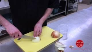 Comment bien couper l'oignon