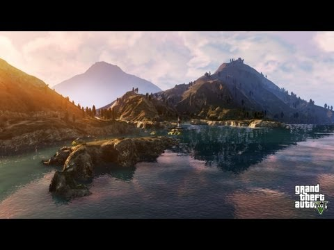 GTA V - Top 5 Awesome Places