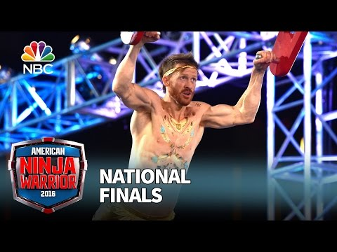 Neil Craver at the National Finals: Stage 1 - American Ninja Warrior 2016