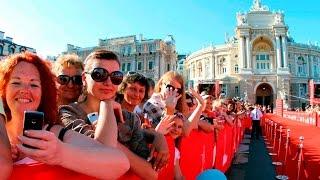 Нонна Гришаева, Открытие ОМКФ-2012, красная дорожка