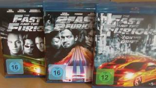 FAST AND FURIOUS BLU RAY COLLECTION