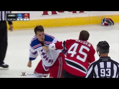 Cam Janssen vs. Brandon Mashinter