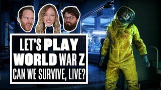 Let's Play World War Z gameplay - CAN WE SURVIVE, LIVE?!