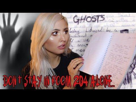 reading strangers terrifying paranormal journal entries..