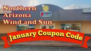 Announcing Another NAWS 7% off Coupon off Solar Equipment.