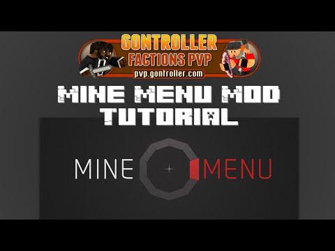 Minecraft MineMenu Mod [Tutorial]