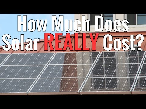 How much does solar REALLY cost?  Does it have to be expensive in the real world?
