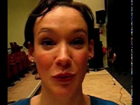 Schouwblog - Anne van Veen backstage in Weijertheater Boxmeer